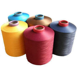 Dyed Polyester Yarn, Usage : Fabric Weaving