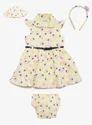 5 Pcs Baby Dress Sets