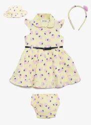 Female 5 Pcs Baby Dress Sets