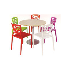 Remtech Round Cafeteria Table