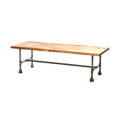 Mild Steel Modern Rectangular Dinning Table