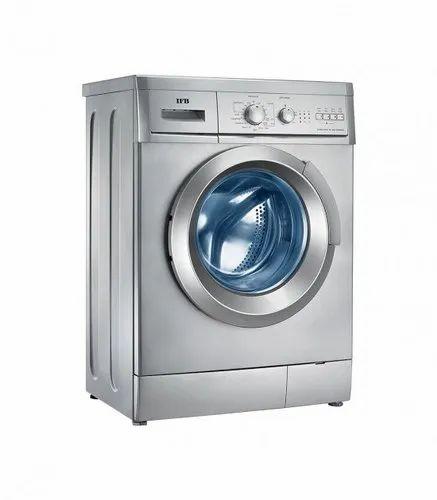 IFB 6 kg Fully Automatic Front Load Washing Machine, Elena Aqua SX, Silver