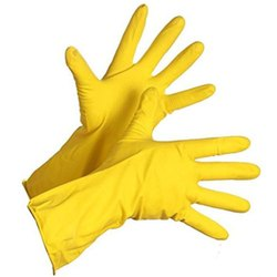 Yellow Hand Gloves
