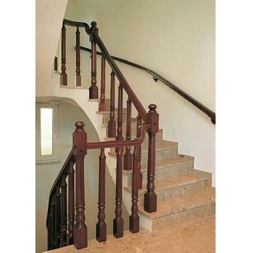 Wooden Railing Wooden Staircase Railing Manufacturer From