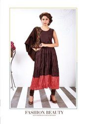 Stitched Rayon,Cotton Aarvi Heer Gown
