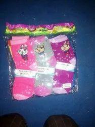 Cotton Casual Wear Kids Socks, 7-13