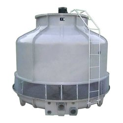Single Phase Fiberglass Reinforced Polyester Round Cooling Tower, Induced Draft, for Industrial