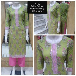 Cotton Casual Wear Designer Ladies Kurti