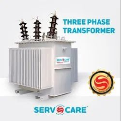 Off-Load & On-Load Three Phase Distribution Transformer