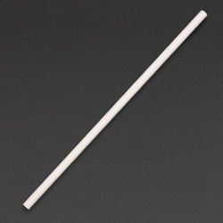 300 GSM White Paper Straw