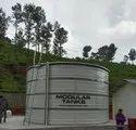 30000l-5000000l Cream Prefab Tanks, For Water, Capacity: 30000l - 5000000l