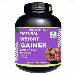 Vanilla Flavor Natural Weight Gainer Powder