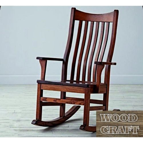 Wood Craft Fancy Wooden Rocking Chair, Wood Craft Furniture