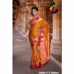 27e8283189cc07 Kothari Embose Art Silk Saree