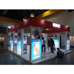 Corporate Exhibition Stall Fabrication Service