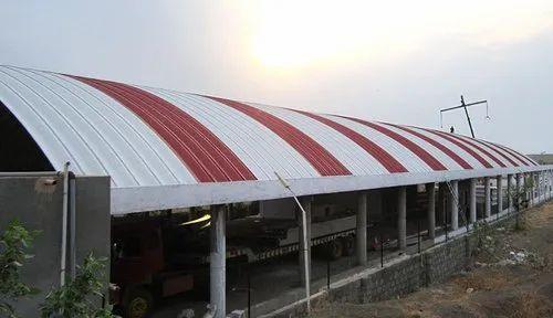 Round Trussless Roofing System Rs 140 Piece Dhruvanshi