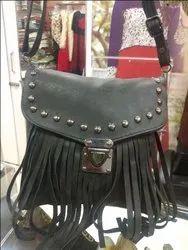 Ladies Leather Side Bag