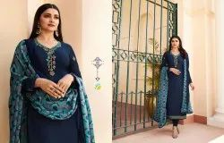 Vinay Silkina Crepe Straight Cut Suits
