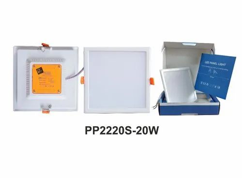 A-One Gold 20W Panel Light, Model Name/Number: Pc2220c, IP Rating: IP55