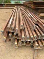 Carbon Steel Silver Rail Pole