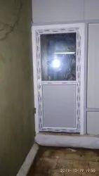 Interior UPVC Glass Door