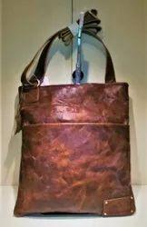 Annodyne Brown Sling Bag For Men, For Casual Wear, Size: 28cm X 40cm