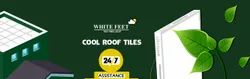 White Feet Heat Reflective Ceramic Tile