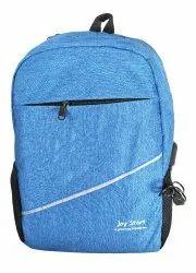 Plain Sky Blue Laptop Bag
