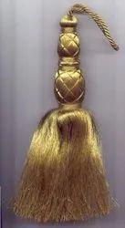 Golden Christmas Tassel
