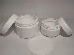 Screw Cap HDPE Cream Jar