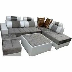 Modern Foam U Shaped Sofa Set, Living Room