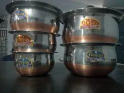 Belly Puri Dabba Steel Containers