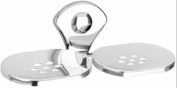 Doyours Double Soap Dishes, Stainless Steel, Glossy Finish