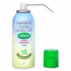Lidocaine Aerosol Spray