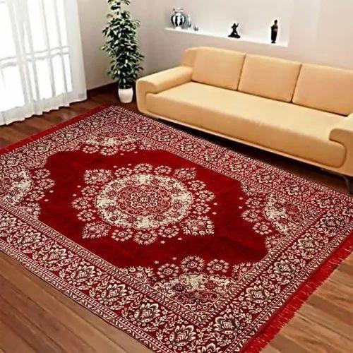 Rectangular Designer Bedroom Carpet
