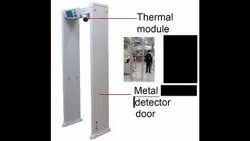 Door Frame Metal Detector With Thermal Module