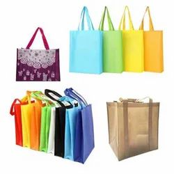 Handle Type: Loop Handle Printed Non Woven Box Bag, For Shopping
