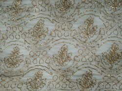 Ribbon Embroidered Fabric