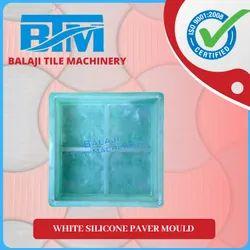White Silicone Paver Mould