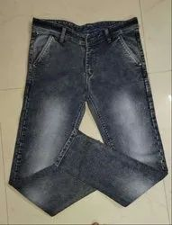Men's Denim Grey Jeans