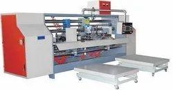 Double part box stitching machine