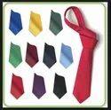 Plain Polyester Ties
