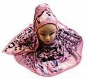 Women's Outdoor Wear Jersey Stretchable Printed Hijab Scarf Dupatta