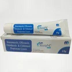 Itraconazole Ofloxacin Ornidazole & Clobetasol Propionate Cream