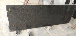 South India Black Galaxy Granites Stone, Thickness: 15-20 mm, Slab