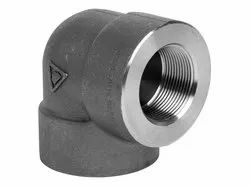 Alloy Steel A182 F5 Threaded Elbow