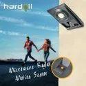 Hardoll Solar Light For Home Garden 10W COB Motion Sensor Lamp (Black)