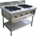 Naru 2 Nos Two Burner Cooking Range For Restaurant