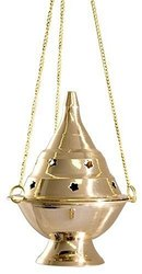 Brass Hanging Incense Burner