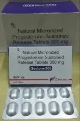 Natural Micronised Progesteron Sustained Release Tablets